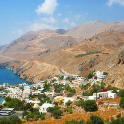 photo of sfakia town, Chania, travel & discover mysterious Greece