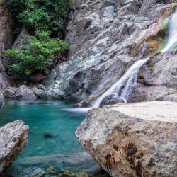 Xirokambos waterfalls © Shuttesrstock