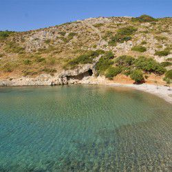 Spilia Beach © Official Website of Agathonisi