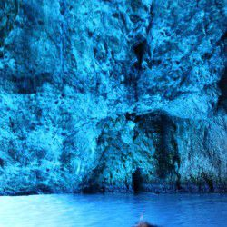 Stalactites in the Blue Cave © Dimitris Katsaras by Flickr