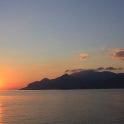 Sunrise over Amorgos