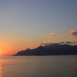 Sunrise over Amorgos