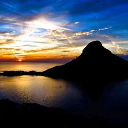 Sunset © Chuck McQuadeby Mountainproject.com