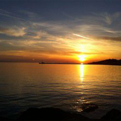 photo of sunset tinos town, Tinos, travel & discover mysterious Greece