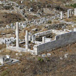 photo of temple  of hera, Delos, travel & discover mysterious Greece