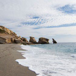Triopetra Beach © Kirill by Flickr