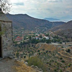 photo of view frompaleohora, Aegina, travel & discover mysterious Greece