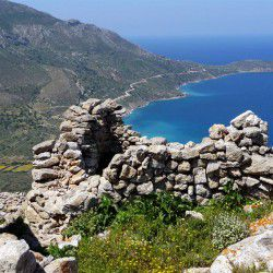 photo of view fromthecastle, Tilos, travel & discover mysterious Greece