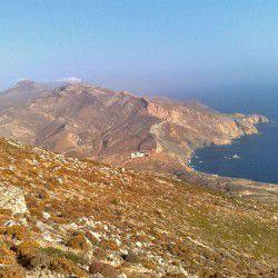 photo of view ofkalamospeninsula, Anafi, travel & discover mysterious Greece