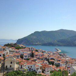 View of Skopelos Town © John Karakatsanisby Flickr
