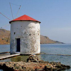 photo of windmill, Leros, travel & discover mysterious Greece