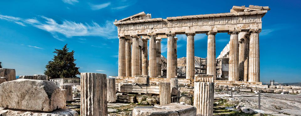 The construction and destruction of the Acropolis Mysterious Greece
