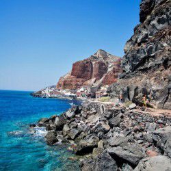 photo of ammoudi, The Island of Lava, travel & discover mysterious Greece