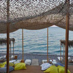 photo of giosonas  beach  bar, One Million Words, travel & discover mysterious Greece
