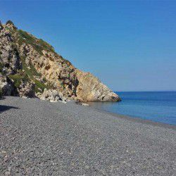 photo of mavra volia  beach, One Million Words, travel & discover mysterious Greece