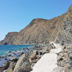photo of path to  agia smata, One Million Words, travel & discover mysterious Greece
