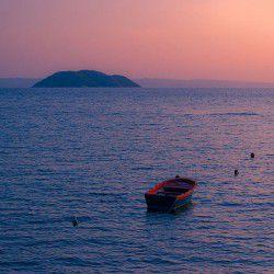 Sunset at Kelyfos