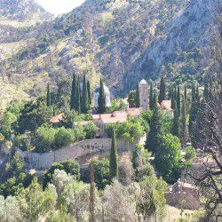 photo of the new  monastery  of chios, One Million Words, travel & discover mysterious Greece