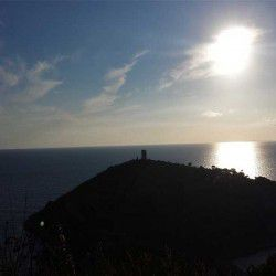 photo of tigani watchtower, One Million Words, travel & discover mysterious Greece