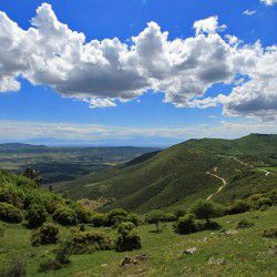 View of Mountainous Halkidiki