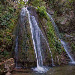 Waterfalls of Agia Varvara