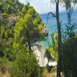 photo of emerald  beach, One Million Words, travel & discover mysterious Greece