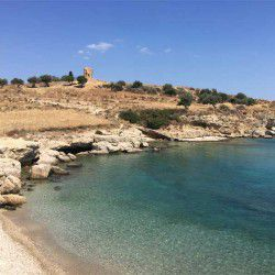 photo of garyfalo  beach, One Million Words, travel & discover mysterious Greece