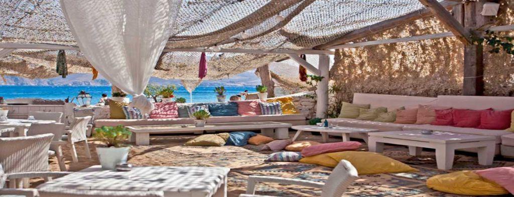 Beach bars cocktail august mysterious greece
