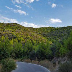 photo of road to zogeria, One Million Words, travel & discover mysterious Greece