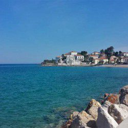 photo of view  of agios  mamas, One Million Words, travel & discover mysterious Greece