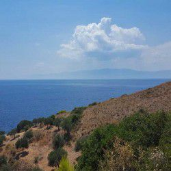 photo of view  to the  sea, One Million Words, travel & discover mysterious Greece