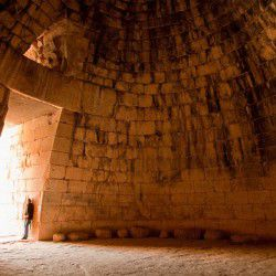 photo of atreustreasuryin side, Bucket List, travel & discover mysterious Greece