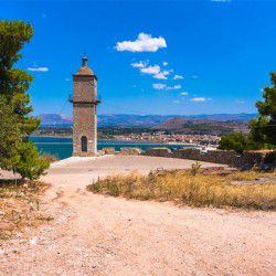 photo of clocktower, One Million Words, travel & discover mysterious Greece