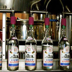photo of ouzo distilling process, Made in Greece, travel & discover mysterious Greece