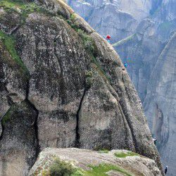 photo of rock climbing on meteora, Bucket List, travel & discover mysterious Greece