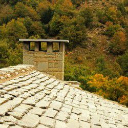 Traditional Roofs © Mysteriousgreece.com