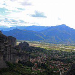 View of Kalambaka