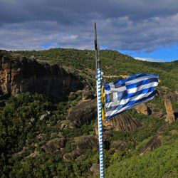 The Flag of Greece © Mysteriousgreece.com