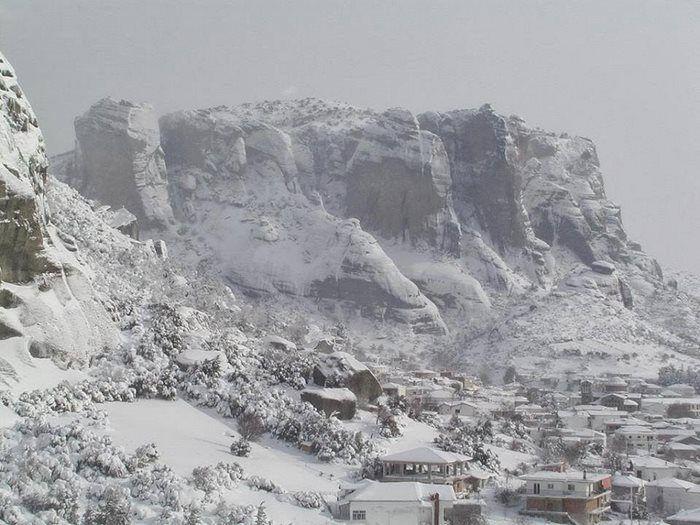 Αποτέλεσμα εικόνας για Μηλιά Μέτσοβο χιονισμένο