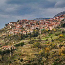photo of arahova village, One Million Words, travel & discover mysterious Greece