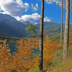Spring Colours in Lake Doxa © Mysteriousgreece