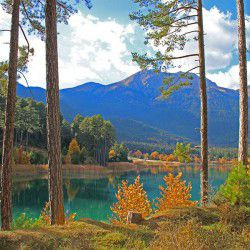 View of Doxa Lake © Mysteriousgreece