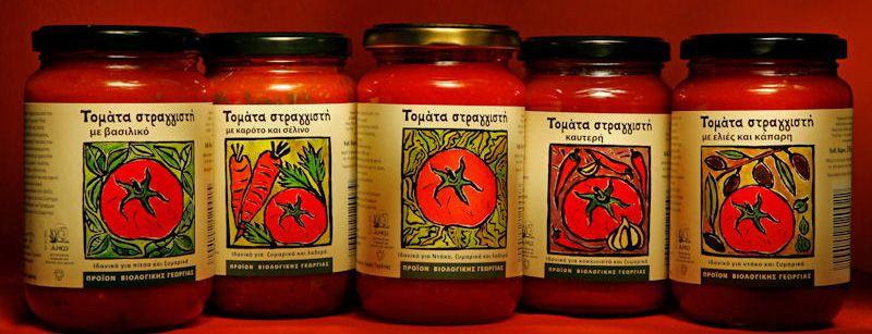 Tomato Sauce from Gousiaris