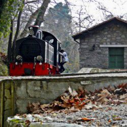 photo of milies train station, Bucket List, travel & discover mysterious Greece