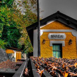 photo of milies train stationii, Bucket List, travel & discover mysterious Greece