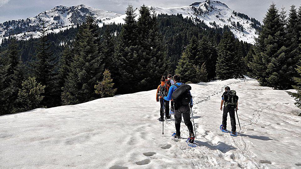 Mountaineering at Agrafa