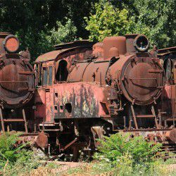 Old Trains © lan Williams by Flickr