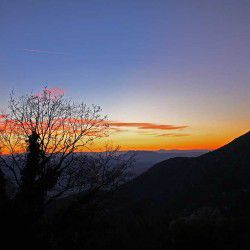 photo of sunset frommakrinitsa, It`s All About Wanderlust, travel & discover mysterious Greece