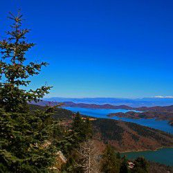 photo of vierwofthe lake fromtheobservsatory, Travel Experiences, travel & discover mysterious Greece