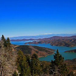 View of the Lake from the Observatory © Mysteriousgreece.com